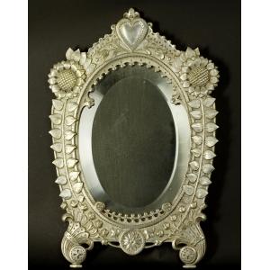 https://antyki-urbaniak.pl/4049-32210-thickbox/oval-mirror-plate-19th-20th-century.jpg