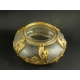 WAZKA, szkło, brąz złocony, secesja, ok. 1900 r.