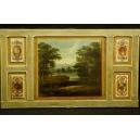 PANNEAU, drewno, Francja, klasycyzm, koniec XVIII w.