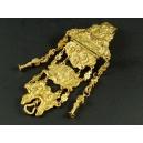 CHATELAINE, brąz złocony, rokoko, XVIII w.