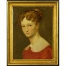 portret Hortensji Allart pędzla Alexandra Denisa Abel de Pujol