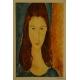 Modigliani. Litografia.  99,5cm x 75cm