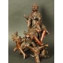 Rzeźba korzeniowa. Chiny. wys. 38cm