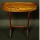 Intarsjowany stolik secesyjny. Sygn.  Galle. 82,5cm x 71cm x 42cm