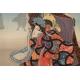 +DRZEWORYT ukiyo-e z wierszem, Hiroshige Utagawa (1797-1858), Japonia, era Edo, 1845-1848 r.