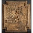 OFIARA ABRAHAMA, drewno, XVII/XVIIIw.