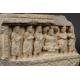 +RELIEF ZE SCENĄ Z ŻYCIA BUDDY, kamień, Gandhara, I-V w. n.e.