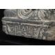 +BUDDA Z LWAMI, kamień, Gandhara, I-V w. n.e.
