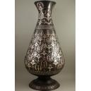 WAZON (stal, srebro, 41 cm), BLISKI WSCHÓD, XIX / XX w.,